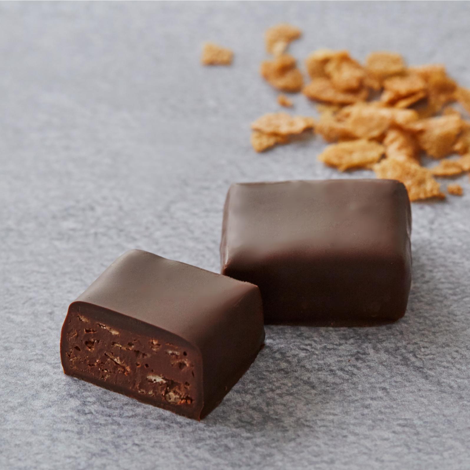 サクサククレープのプラリネチョコレート